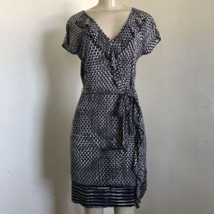 Banana Republic silk blend dress szXS